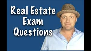 real estate exam questions review session june 2017 youtube