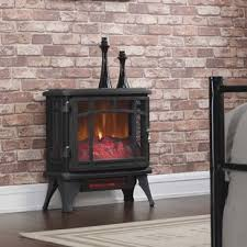 Electric Fireplace Stove Heating Stoves You Ll Wayfair