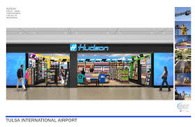 Tulsa Airport Map Hudson Group Awarded Concession Contract At Tulsa International