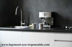 beton ciré mur cuisine cuisine en bton cir top mortier credence cuisine beton cire blanc