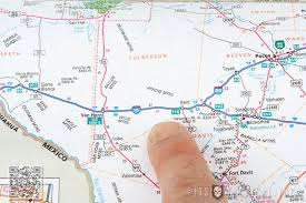 map of the road the lost of reading a road atlas and hitting the open road