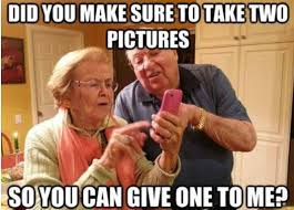 Parents Meme - did you make sure to take two pictures funny parents meme