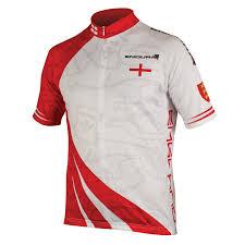 Englang Flag Endura Coolmax Short Sleeve England Flag Jersey The Bike Shed