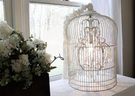 How To Make A Birdcage Chandelier Decor Tips Pretty Birdcage Chandelier For Home Lighting