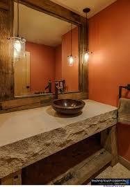 Repurposed Bathroom Vanity by Repurposed Barn Wood Furniture Rustic Bathroom Mirrors Repurposed