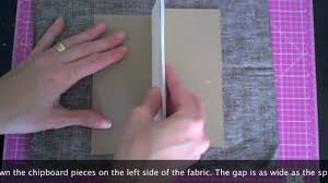 fabric photo album how to make the simplest fabric covered mini album