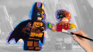 the lego batman movie batman and robin coloring book pages video