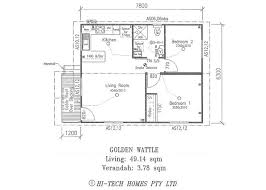 Two Bedroom Granny Flat Floor Plans 32 Best Granny Flats Images On Pinterest Double Garage Granny