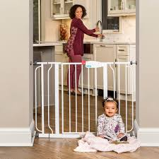 amazon com regalo easy step extra wide walk thru gate 29 44