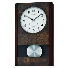 melbourne musical wall clock qxm359blh seiko clocks