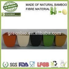 Cheap Small Flower Pots - bamboo pots cheap sale bio material bamboo fibre plant holder