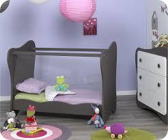 chambre bébé lit plexiglas berceau lit bebe iris taupe