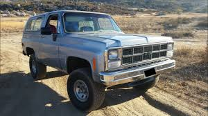 chevy trucks curbside classic 1980 chevrolet k5 blazer silverado u2013 the