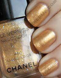 chanel gold lamé illusion d u0027or u0026 black velvet swatches review