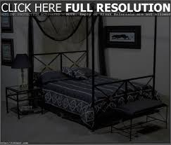 canopy metal beds viendoraglass com wrought iron bed full