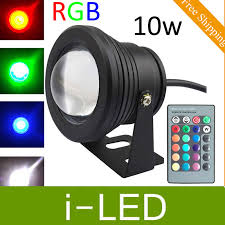 led fountain lights underwater 4pcs lot rgb 10w dc12v underwater led fountain lights led pool l