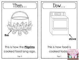 help children compare the lives of the pilgrims to their own