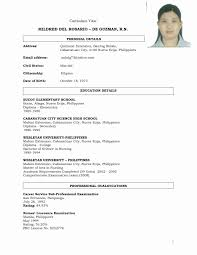 resume format 2017 philippines new model resume format awesome sle resume format for teacher