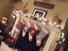 fireplace mantle stocking hangers fire