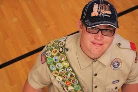 autistic boy scout earns 132 merit badges deseret news