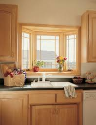Kitchen Windows Decorating Countertops Backsplash Kitchen Bay Window Pertaining To