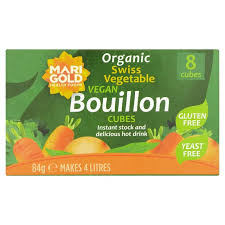 gluten free cubes marigold organic yeast free bouillon cube green 87g from ocado