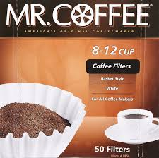 amazon com mr coffee 8 12 cup coffee filters 50 filters