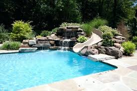 Pool Screen Privacy Curtains Pool Screen Privacy Curtains Islands Rocks Slides Grottos Caves
