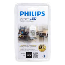 phillips under cabinet lighting philips 418392 3 watt 20 watt accentled t3 desk and cabinet g4