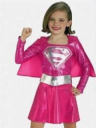 Halloween Costumes Supergirl Kids Superheroes Party Delights