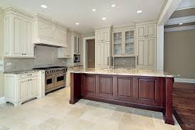white kitchen wood island why antique white kitchen cabinets blogbeen