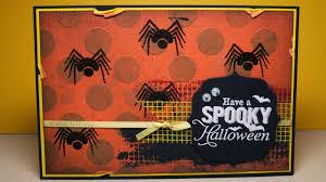 little paper studio halloween postcard swap