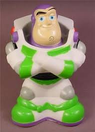 Buzz Lightyear Centerpieces by Disney Toy Story Buzz Lightyear Soft Squeaky Bath Toy Figure 5