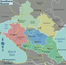Russia Map Image Large Russia by Southern Russia Regions Map2 U2022 Mapsof Net