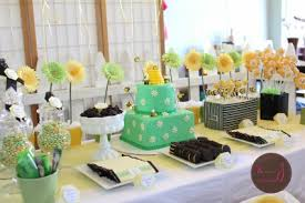 bee baby shower ideas bumble bee baby shower cutestbabyshowers