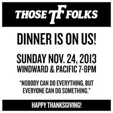 Thanksgiving Madlib November 2013 Those Folks