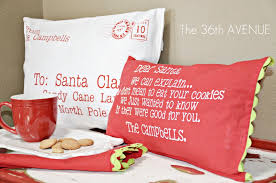 letter to santa pillows the 36th avenue