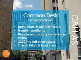 Common Desk Deep Ellum Coolest Coworking Spaces In The Top 10 Metro Areas