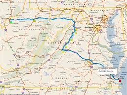Virginia Beaches Map by Day 15 Motorcycle Vs Nature Barry K7bwh