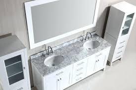 Bathroom Vanity With Linen Tower Bathroom Vanity With Linen Tower Cabinets Design Element Full Size