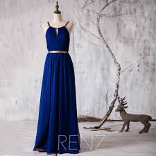 royal blue chiffon bridesmaid dresses baby blue chiffon bridesmaid dress with gold belt ruched