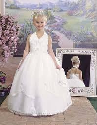 catholic communion dresses pretty halter gown floor length satin catholic