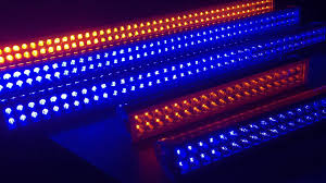 multi color led light bar with wireless remote
