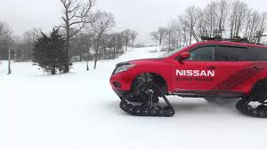 Nissan Rogue In Snow - nissan unleashes trio of