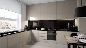 black glass backsplash kitchen homey feeling room designs