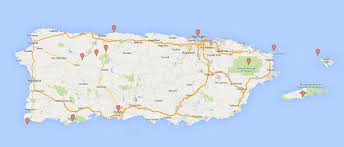 Map Of San Juan Islands Top Places To Visit In Puerto Rico The Talking Trails