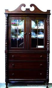 mahogany china cabinet furniture middlesex furniture company antique mahogany china cabinet passion