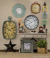 charming wall clock decorating idea 2 wall clock home decor ideas
