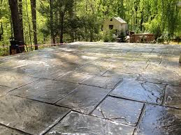 Flagstone Stamped Concrete Pictures stamped concrete overlay concrete restoration decorative