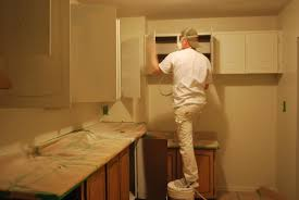 home decor spray painting kitchen cabinets for interior design